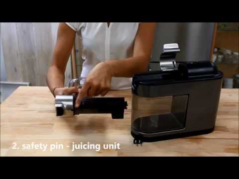 Safety pins of the Philips Avance Masticating Juicer