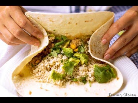 How to make- Vegetarian Burrito
