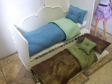 How To Make a Doll Day Bed With Pull-Out Trundle
