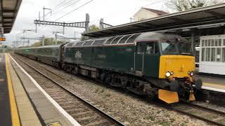 GWR Night Riviera Sleeper Train passing through Maidenhead