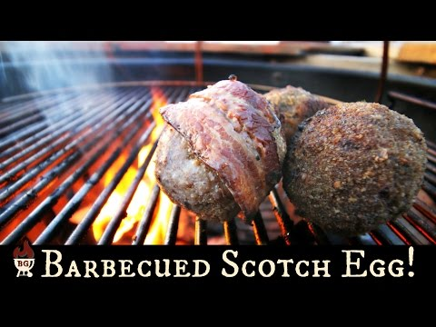 How To Grill Scotch Eggs | Scotch Egg Recipe On The Weber Kettle