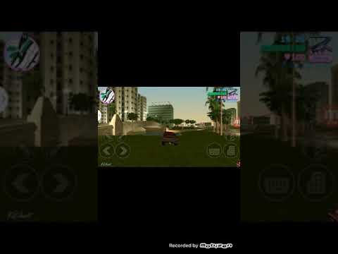 Driving car on water in gta vice city
