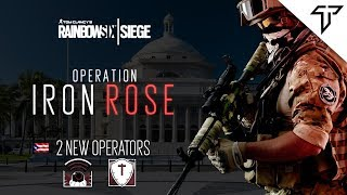 Rainbow Six Siege Puerto Rican Operators Concept! Operation Iron Rose Concept!