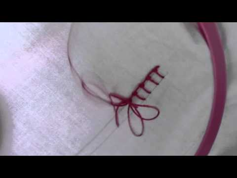 Knotted Blanket Stitch