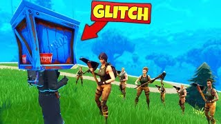 TROLLING DEFAULTS with *GLITCHES* - Fortnite Battle Royale