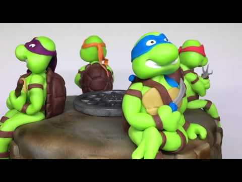 Sugarpaste Ninja Turtles