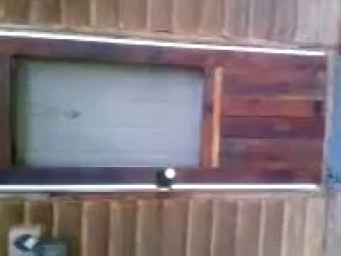 How to Make A Rustic Storm Door