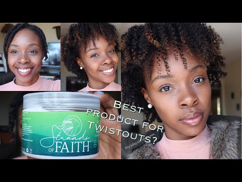 Best Twisting Butter for Type 4 Natural Hair| Twistout ft. Strands of Faith Holy Grail Collection
