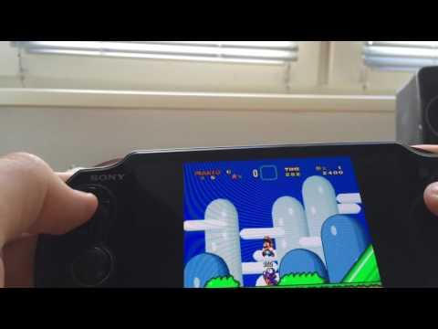 PS Vita - HENkaku: Playing some Super Mario World (SNES Emulator)