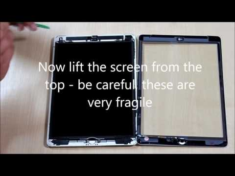 For Apple iPad Model No A1475 Repair Video for Touch Screen Digitizer
