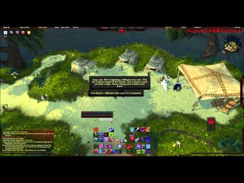 Arrival of the Alliance Fleet - World of Warcraft