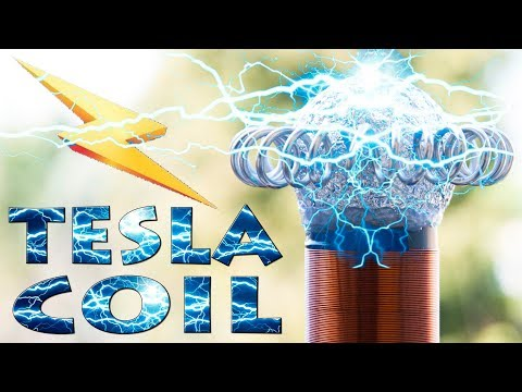 How to Make Wireless Energy - Mini Tesla Coil