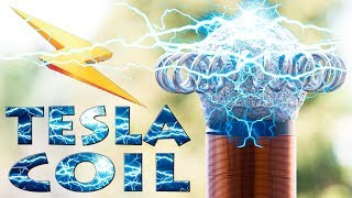 How to Make Wireless Energy - Mini Tesla Coil