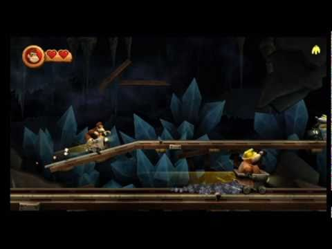 Donkey Kong Country Returns - 4-3 Bombs Away