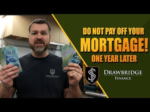 Be smarter than the bank: Don't pay off your mortgage early 2
