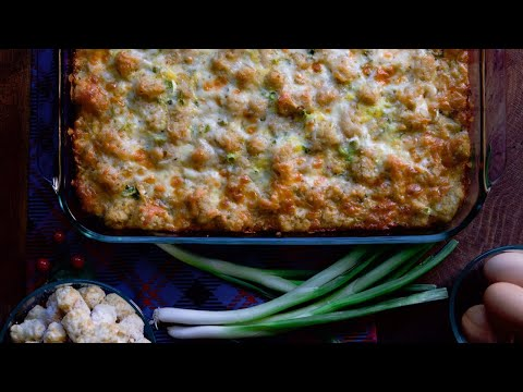How to make Tater Tot Breakfast Casserole