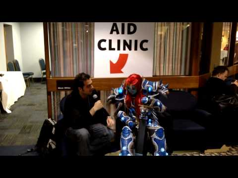 Hal-Con 2013 Interviews: Troll Death Knight at the Clinic (World of Warcraft)