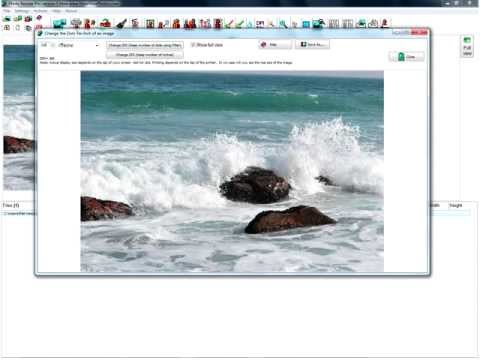 How-To change the DPI (Dots per Inch) with Photo Resizer Pro version 5 from www.ShowYourPhotos.com