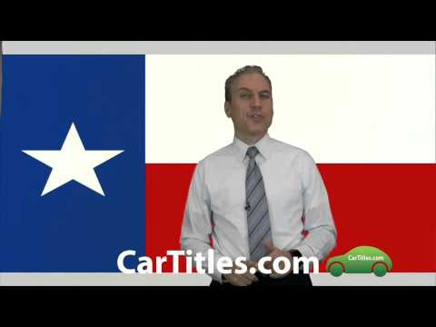How do you get a new title for a car in Texas? | AFX