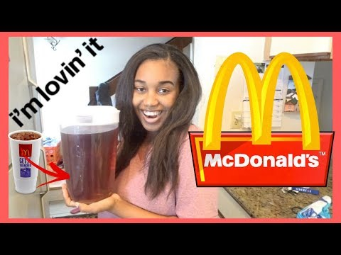 How To Make McDonalds Original Sweet Tea (Copycat Recipe) !