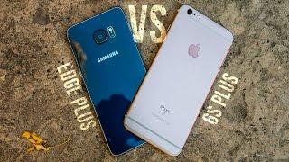 iPhone 6S Plus vs Samsung Galaxy S6 Edge Plus Comparison!