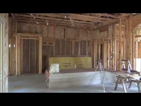 The Building Process (6) - Slab Pour, Framing, Insulation, & Rough Ins