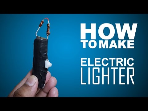 How To Make Electronic Lighter Easy Way
