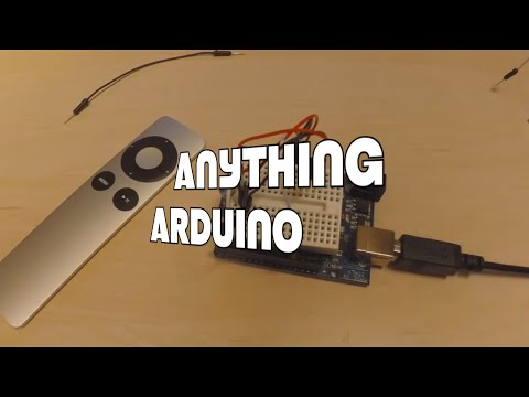 Apple Remote as a Universal Remote Control using Arduino [Anything Arduino] (ep.12)