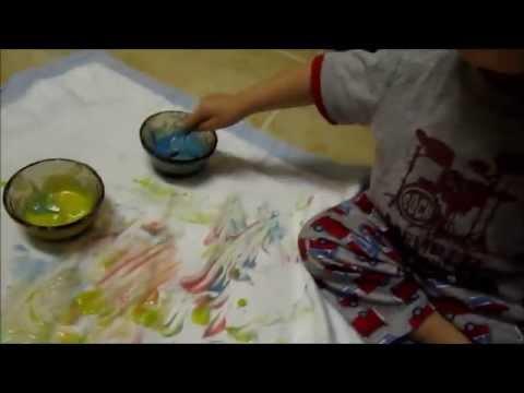 Homemade Paint (Finger paint)