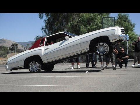 Hydraulic Lowrider Cars Defy Gravity