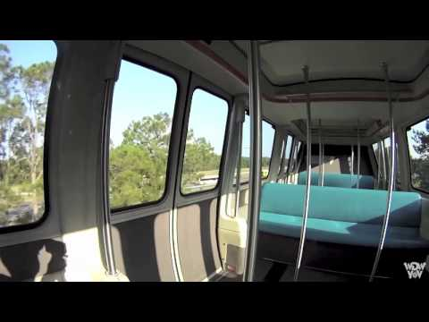 2D Epcot Monorail to the Transportation and Ticket Center
