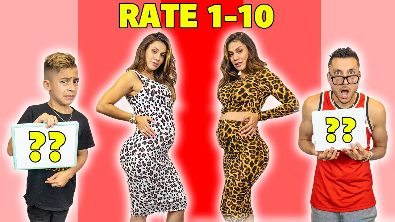My SON And HUSBAND RATE My PREGNANCY OUTFITS!! 🤷♀️ | The Royalty Family