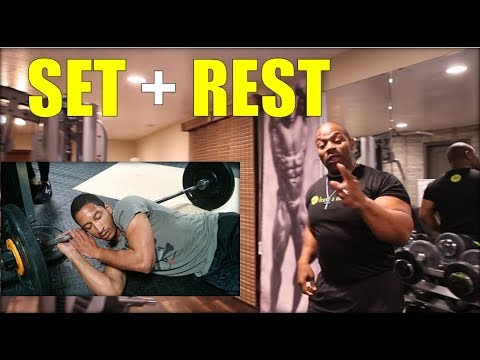 How Long to REST between SETS ..... For MAXIMUM MUSCLE GROWTH