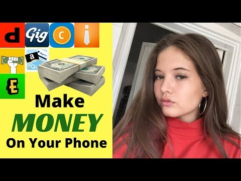 HOW TO MAKE MONEY ON YOUR PHONE | Top 7 Apps that pay YOU!