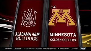 Alabama A&M at Minnesota - Men