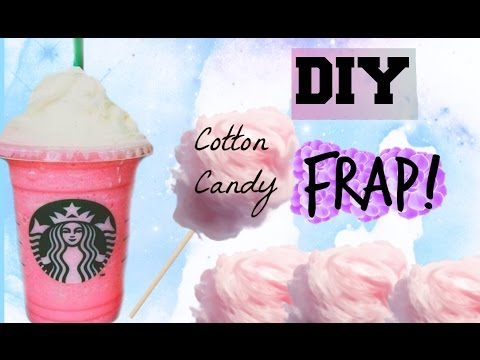 DIY Cotton Candy Frappuccino from Starbucks