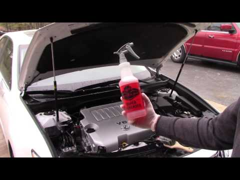 PART 1 OF 4-ENGINE BAY CLEANING|DALLAS PAINT CORRECTION|AUTO DETAILING PLANO TEXAS