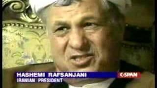 Rafsanjani on Iran