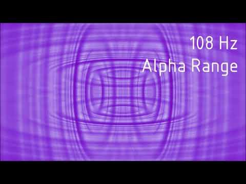 Pure 108 Hz Alpha Range Binaural Beats [30 min]