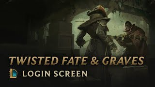 Twisted Fate & Graves | Login Screen - League of Legends
