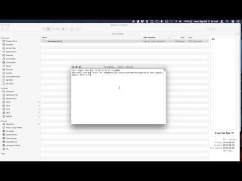 How to change the date modified of a file without opening