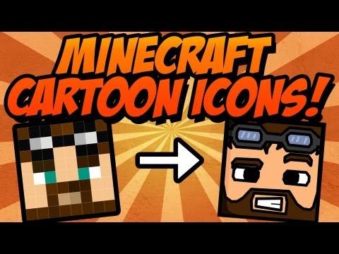 Tutorial: Easy minecraft cartoon icons (Photoshop) ✔