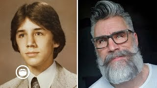 40 Years of Beards and Hairstyles