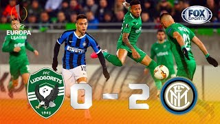 Ludogorets - Inter [0-2] | GOLES | Dieciseisavos de final (ida) | UEFA Europa League