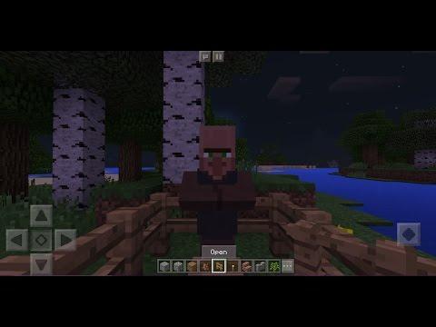 minecraft 0.16.1 villager trading glitch ios android windows 10