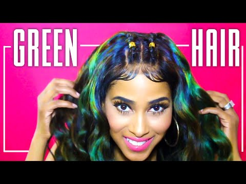 HOW TO: Color Hair At Home 💚 Lavy Hair