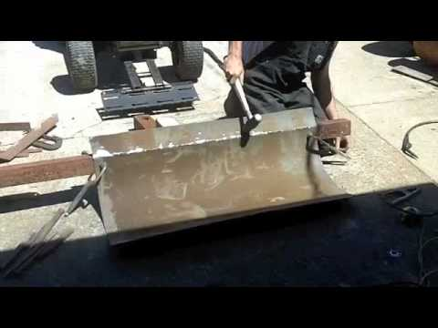 Building a Home Made Snow Plow 3