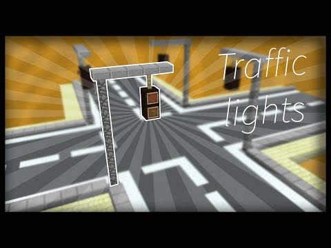 Minecraft: How to make working traffic lights