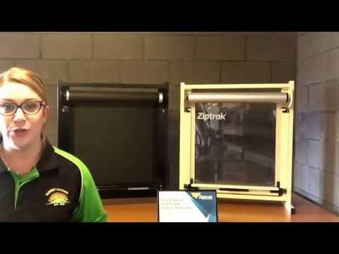 Ziptrak Blinds - Cleaning