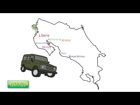 How Are the Road Conditions in Costa Rica? Vamos Rent-A-Car - Official Channel
